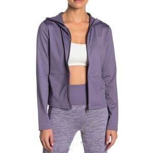 Skechers Revival hooded cropped jacket small